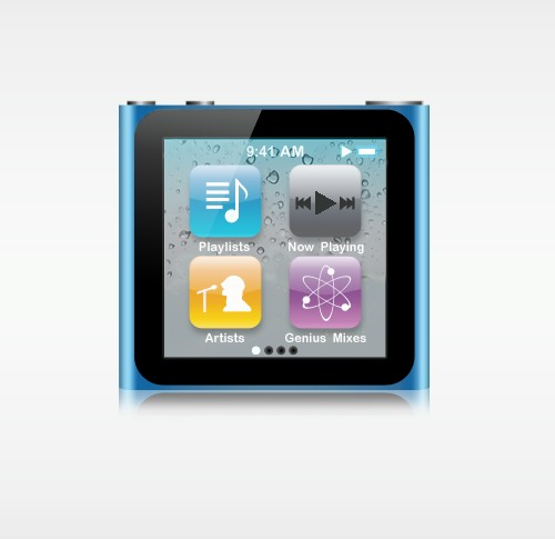 iPod Nano Illustration erstellen - Photoshop Tutorial